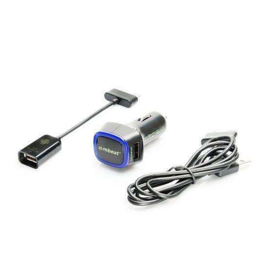 GALAXY Tab & Note OTG Smart Travel Kit (30 Pin Type)-Black-1 Unit