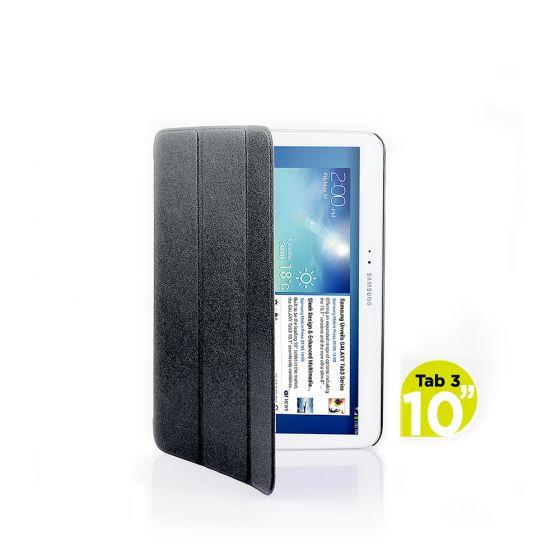 Ultra Slim Case Cover for Galaxy Tab 3 10.1 Inch-Black-1 Unit