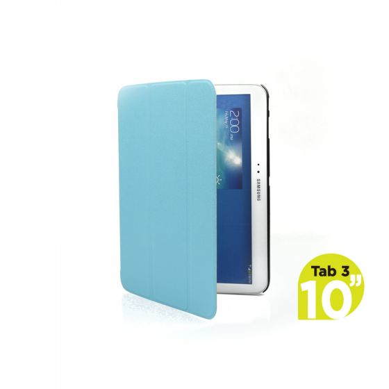 Ultra Slim Case Cover for Galaxy Tab 3 10.1 Inch-Blue-1 Unit
