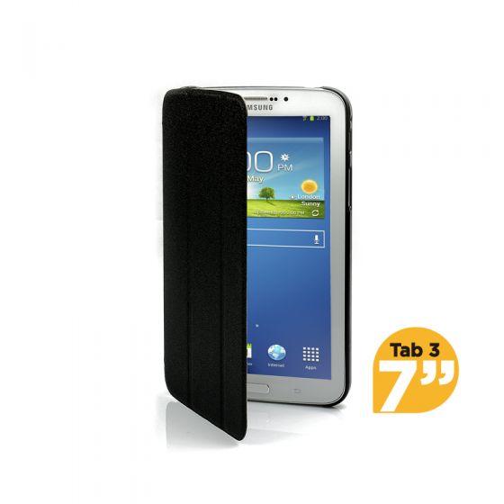 Ultra Slim Case Cover for Galaxy Tab 3 7 Inch-Black-1 Unit