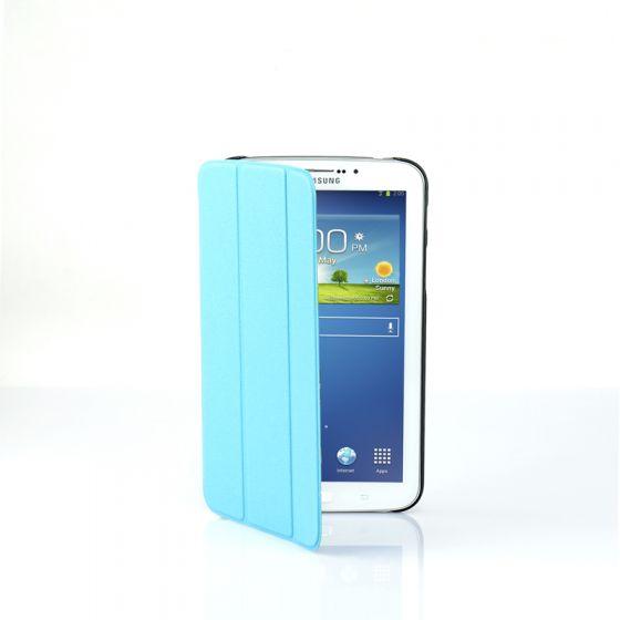 Ultra Slim Case Cover for Galaxy Tab 3 7 Inch-Blue-1 Unit
