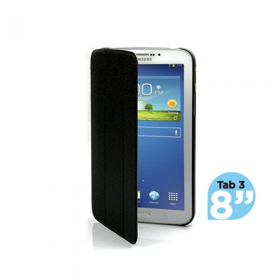 Ultra Slim Case Cover for Galaxy Tab 3 8 Inch-Black-1 Unit