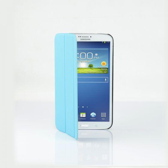 Ultra Slim Case Cover for Galaxy Tab 3 8 Inch-Blue-1 Unit