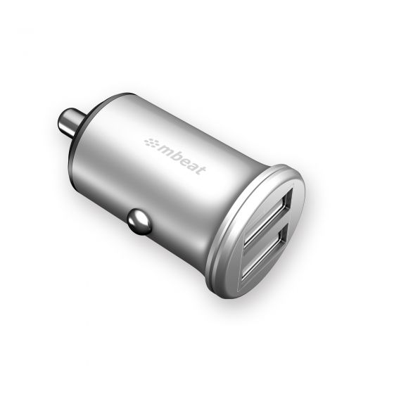 mbeat Power Dot Pro dual port 4.8A 24W car charger image
