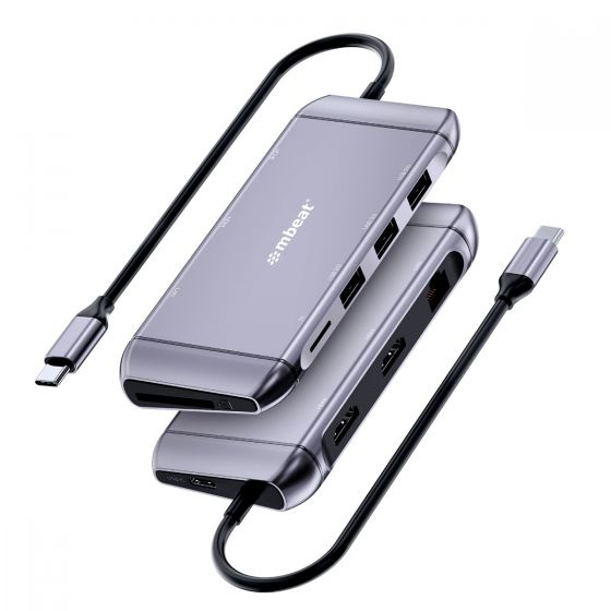 Elite X11 Dual HDMI 9-in-1 USB-C Docking Station