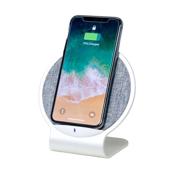 AURORA Dual Coil Wireless Charging Stand