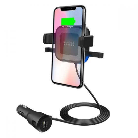 mbeat Gorilla Power 10W wireless car charger image