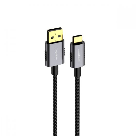 ToughLink 1.8m Braided USB-C to USB-A Cable