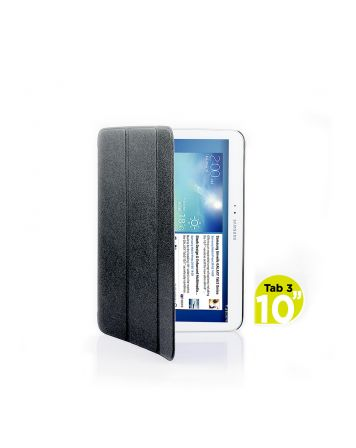 Ultra Slim Case Cover for Galaxy Tab 3 10.1 Inch-Black-1 Unit