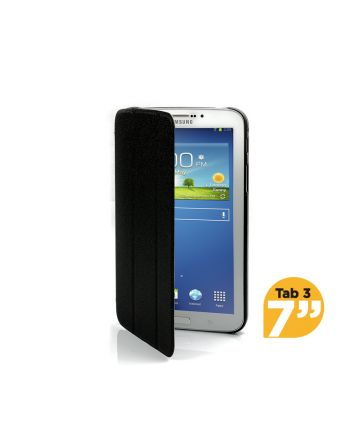 Ultra Slim Case Cover for Galaxy Tab 3 7 Inch-Black-1 Unit