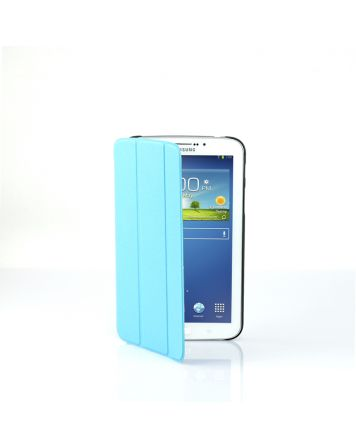Ultra Slim Case Cover for Galaxy Tab 3 7 Inch-Blue-1 Unit