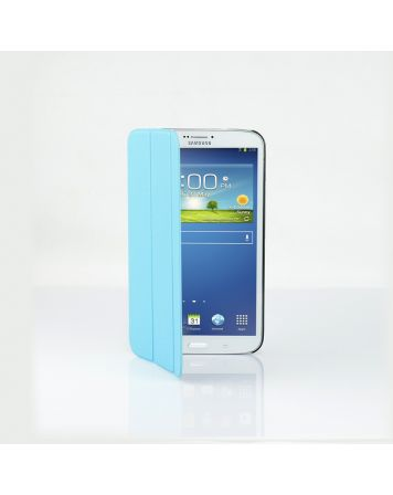 Ultra Slim Case Cover for Galaxy Tab 3 8 Inch-Blue-1 Unit