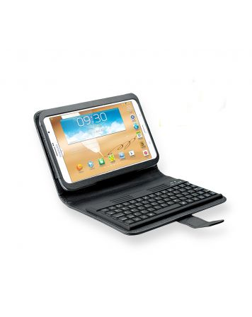 Galaxy Note 8 Bluetooth Keyboard Folio Case with Free Screen Protector