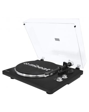 Hi-Fi Turntable Player with Bluetooth - Matte Black